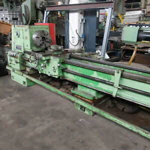 24 X 120 Cincinnati Hydra Shift Geared Head Engine Lathe Model 22