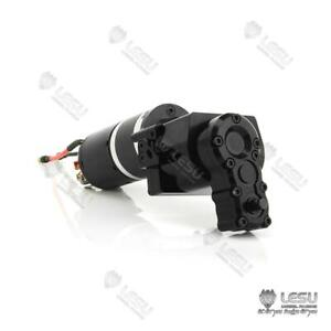 Lesu Gearbox Transmission Transfer Case 2speed Motor 1 14 Rc Tractor Truck Dump