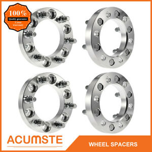 4pcs 1 Inch Thick For Chevy Gmc Wheel Spacers Adapters 6x5 5 14x1 5 6 Lug