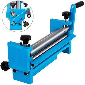 Slip Roll 11 8 x20 Gauge Sheet Metal Roller 300mm Slip Rolling Bending Machine