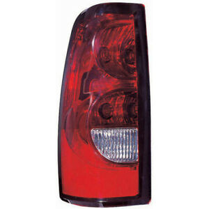 Fits 2004 2006 Chevy Silverado 1500 Tail Light Driver Side Capa
