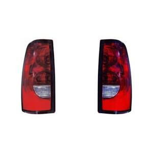 Fits 2004 2006 Chevy Silverado 1500 Tail Light Pair Dot