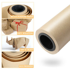 45cmx3000cm Kraft Paper Roll Durable Packing Paper Shipping Wrapping Cushioning