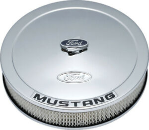 Proform Ford Mustang Air Cleaner Kit Chrome