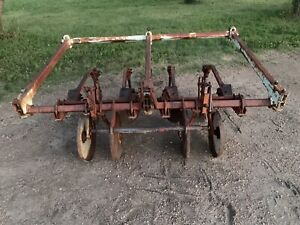 Farmall Tractor Cultivator Two Row 3point 36 Inch Rows