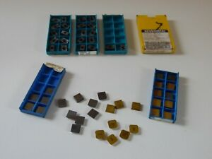 Lot Of Carbide Inserts Kennametal Valenite Ingersoll Sec 422 Apeb53r02