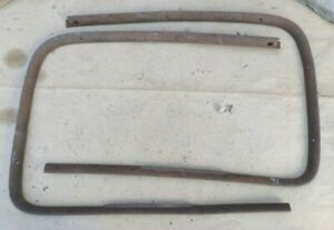 1941 Ford Windshield Garnish Moldings Original Pair Inside Mercury