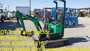 2014 Bobcat 418aa Mini Small Excavator Compact Trackhoe Digger Used
