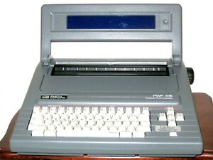 Smith Corona Portable Pwp X15 Word Processor Typewriter Model 5d With Extra s
