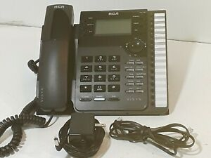 Rca 2 line Corded Visys Speakerphone Model 25203re1 a And Slimline Phone Gce