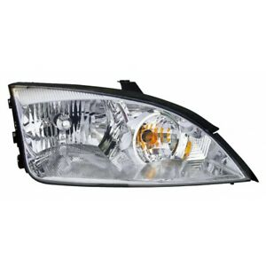 Fo2503210 Fits 2005 2007 Ford Focus Head Light Passenger Side W Bulbs