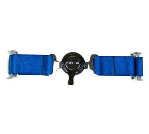 Nrg Innovations 4 Point Seat Belt Harness Cam Lock Blue