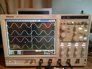 Tektronix Dpo7104 Digital Phosphor Oscilloscope 1ghz 20gs s 5rl Je3 Mtm