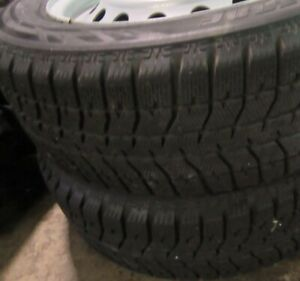 4 Bridgestone Blizzak Snow Tires W Wheels 225 60r16 92t
