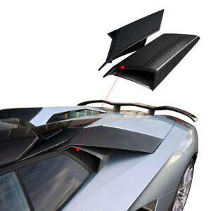 Carbon Fiber Air Side Vents Cover For Aventador Lp700 Air Duct 2011 16 Om Style