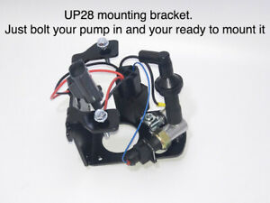 Electric Rotary Vacuum Pump Bracket Kit With Switch Relay Bracket Filter