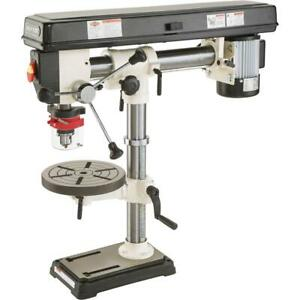 W1669 1 2 Hp 34 Bench top Radial Drill Press