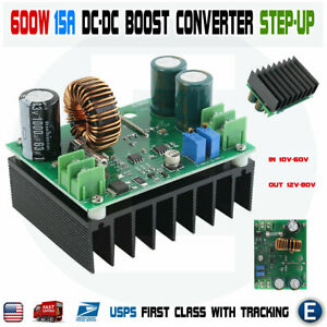 Dc dc 600w 10 60v To 12 80v Boost Converter Step up Notebook Power Supply Module