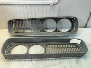 Dodge Coronet Super Bee 1970 Left Right Driver Passenger Pair Grille Grilles