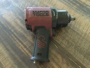 Matco Tools 1 2 Drive Pneumatic Air Impact Wrench Mt2779 Red