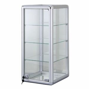 New Glass Countertop Display Case Retail Fixture Showcase With Lock