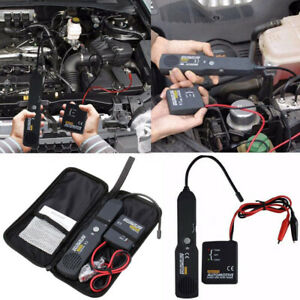 Digital Car Circuit Scanner Diagnostic Tool Tester Wire Cable Short Open Finder