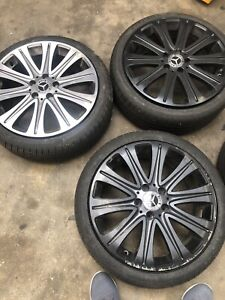 225 40 18 Tires Set Of 4 And Rims
