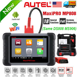 Autel Mp808 Car Diagnostic Scanner Key Programming Ecu Coding Abs Bleeding Reset