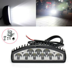 6in 27w Led Work Light Bar Car Truck Boat Driving Fog Lamp Offroad Ute Suv