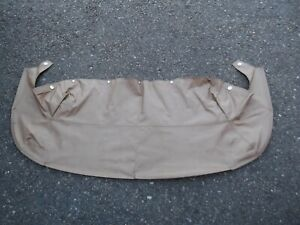 1999 2005 Mazda Miata Convertible Tonneau Boot Top Cover Beige Color Oem