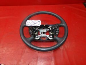 94 04 Mustang Gt Svt Cobra Leather Wrap Wrapped Steering Wheel Oem Charcoal Look