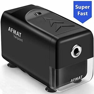 Electric Pencil Sharpener Heavy Duty Afmat Classroom Auto Stop Super