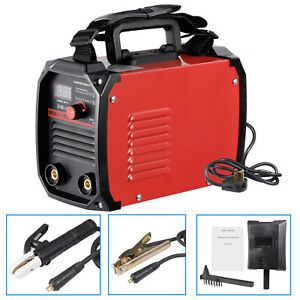 Arc Welding Machine Handheld Dc Inverter Mma Stick Welder Equipment Dual Voltage