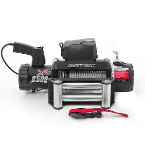 Smittybilt 97495 In Stock Xrc Gen2 9 5k Waterproof Winch W 93 5 Steel Cable