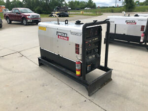 Lincoln Electric K2409 3 Vantage 300 Diesel Welder W Stainless Steel Cover