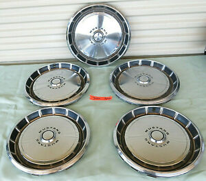 1971 1973 Ford Mustang Used Hubcap Wheel Covers 14 Hub Caps 3284