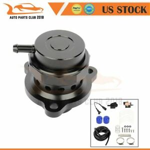 Turbo Blow Off Valve Bov Kit Black Fits For Ford 2015 2019 Mustang 2 3 Ecoboost
