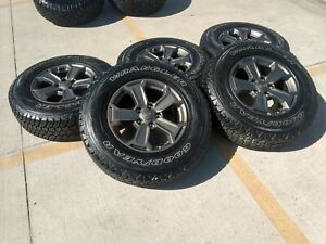 17 Jeep Wrangler Gladiator Oem Wheels Rims Tires 2018 2019 2020 2021 9196 9195