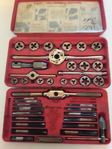 Snap on Tap And Die Set Metric Tdm 117a Missing 3 Pieces