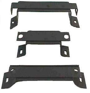 1964 65 Chevelle Manual Transmission Console Mounting Bracket Set 3 Pieces