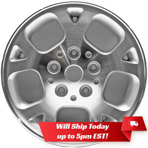 New 16 Machined Silver Alloy Wheel Rim For 1999 2003 Jeep Grand Cherokee 9027