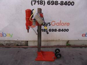 Weka Core Drill Rig Diamond Products With Base 120 Volts Works Great 2