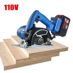 Industrial grade 20 volt Electric Metal Wood Stone Tile Cutting Machine 110mm