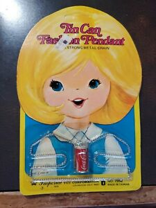 Vintage New Old Stock Childs Toy Coca-Cola Necklace Imperial Toys