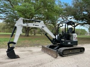 2015 Cat 305 5e Mid Size Excavator Enclosed Cab A c 2 Speed Low Hours