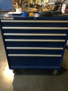 Lista roll Cabinet 6 Drawers 40 X 22 1 2 X 48 Tall With Wheels