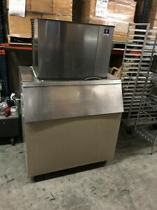 Manitowoc Sy0454a Air Cooled Ice Maker And Bin 115v
