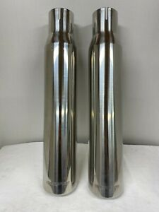 Magnaflow Exhaust Tips 3 5 X 18 Polished Stainless Steel 2 Pcs