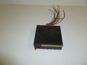 Code 3 Light Control Switch Box Gd318