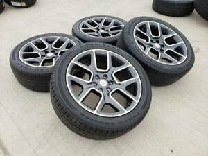 22 Dodge Ram 1500 Oem 2019 2020 2021 Limited Wheels Rims Tires 2684 2725 New